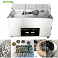 Buy cheap Medical Laboratory Digital Ultrasonic Cleaner 0-30 Minutes Timer 20-80C Temp Adjustable product