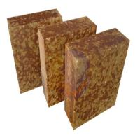 Buy cheap AZM -1680 Silica mullite brick , fire resistant heat proof bricks Brown Color product