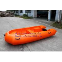 Quality New environmental protection material  , can recycle, strong and anti-impacted ,china first unsinkable inflatable boat for sale