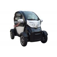 Quality Long Range 1200 W  Mini Electric Car White Color With 2 Seats for sale