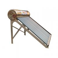Buy cheap compact heat pipe solar water heater with copper coil in water tank product
