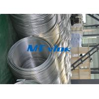 Buy cheap TP316 / 316L Stainless Steel Welded Super Long Coiled Tube For Petrochemical Industry from Wholesalers