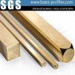 Buy cheap Building Materials Brass Bar Sheet Brush Brass Rectangle Bar product