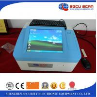 China IMS Technology Table Explosive Detection System 10 Inch TFT Color Touch Screen on sale