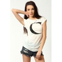 China Letter Print Ladies Tee Shirts on sale
