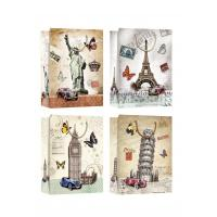 Buy cheap Country Symbols Patter Design gift paper bags for tourist gift shops from wholesalers