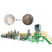 Buy cheap 300 - 1500 Kg/H PET Bottle Plastic Washing Recycling Machine with Stainless from wholesalers