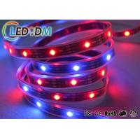 Buy cheap Waterproof Addressable LED Tape DC 5V SMD5050 Chip Type For Black Board product