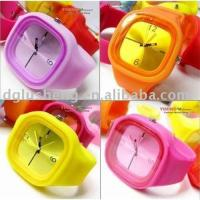 China Jelly silicone watch on sale