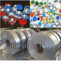 Buy cheap Lacquer Color Coated Aluminium Coil Strip For Vial Seals Flip Off Seals ISO9001 Supplier product