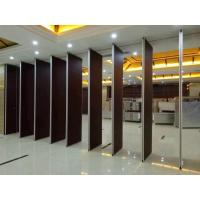 Buy cheap Thickness 85 mm Aluminium Sliding Track Soundproof Hotel Movable Partition Wall Acoustic Room Divider product