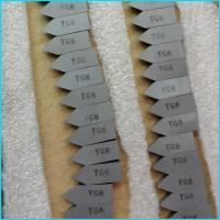 Buy cheap YG6 C120 C122 C125  carbide brazed tips from Wholesalers