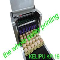 Easy Operation Egg Date Stamp MachineCan Spray Print 200000 Eggs With 45ml Ink