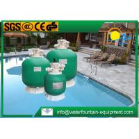 China High Performance Fibreglass Sand Filter , Top Mount Sand Filter For Swimming Pool on sale