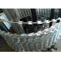 Buy cheap Heavy Galvanized Sharp Razor Barbed Wire For High Security Place product