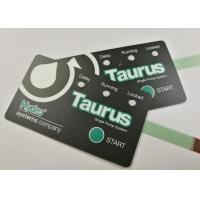 Buy cheap Printed Circuit Tactile LED Membrane Switch With Embossing Key Rosh product