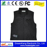Buy cheap Battery - powered Heated jacket Black color product