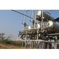 Buy cheap Automatic Waste Plastic To Diesel Plant , Plastic Into Fuel Machine Pyrolysis Technology product