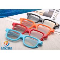 Buy cheap Plastic circular polarized 3d glasses for digital theatre  Reald  Or Masterimage Movie format use Passive 3D System product