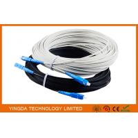 Buy cheap Outdoor Fiber Optic Patch Cord FTTH Network Patch Cable 1 Core SC / UPC - SC / UPC 40M product