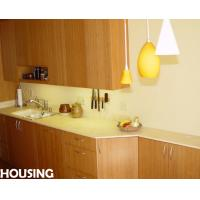 Oem modern bamboo kitchen cabinet with sink faucet for Bamboo kitchen cabinets australia