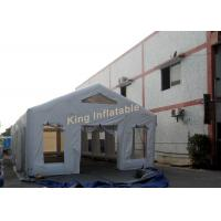 China White Waterproof Inflatable Tent 0.4mm PVC Tarpaulin For Outdoor Events on sale