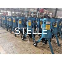 Buy cheap Customized Portable Sand Blasting Machine Paint Steel Structure Fast Removal from wholesalers