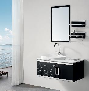 Buy cheap 304 Stainless Steel Bathroom Vanity Cabinet Set (MZ0801) product