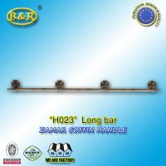 Buy cheap Metal coffin bar Ref H023 zamak coffin long bar metal herrajes de ataudes 1.55 meter with 4 bases product
