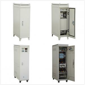 Buy cheap Single Phase Servo Controlled Voltage Stabilizer base on 10KVA/20KVA/30KVA/50KVA product