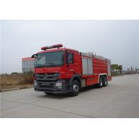 Buy cheap Manual Operation Fire Fighting Truck Max Speed 95KM/H Rear Roof Fire Monitor product