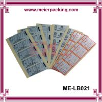 Quality Full Sheet Labels - Printable Sticker Paper/CustomSquare QC Pass Paper Label & for sale