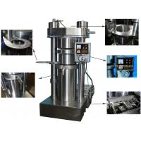 Buy cheap Simple Operation Cold Oil Press Machine , 380V Voltage Sesame Oil Press Machine product