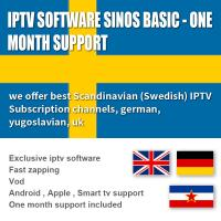 Buy cheap Subscription 1000 Exclusive Software  Live / VOD 1 Month , Android  / IOS IPTV Box Sweden product