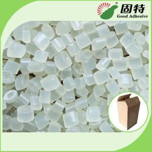Buy cheap Transparent White EVA Particles Hot Melt Glue Adhesive granule for Packaging Like Henkel product