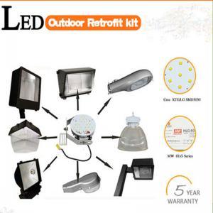 Buy cheap Retrofit kit 40w-400w high bay/gas station/canopy/warehouse/shoebox led retrofit kit product