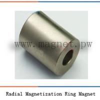 Buy cheap Radial Magnetization Ring Magnet 112 product