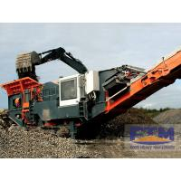 Buy cheap Mobile Crushing Station In China/Small Portable Crushing Equipment product