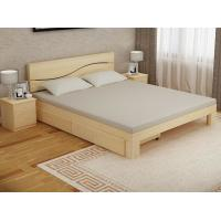 Buy cheap Bedroom Modern Home Furniture Sets Wood Grain With Bottom