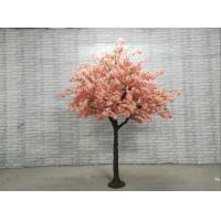 Buy cheap Plastic Trunk Artificial Indoor Decorative Cherry Blossom Tree For Wedding Events product
