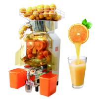 Buy cheap Commerical Automatic Orange Juicer Machine Food Grade Stainless Steel Body from wholesalers