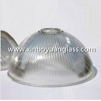 Buy cheap Ribbed glass industrial pendant light shades from Wholesalers