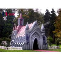 China Rental Move Church Inflatable Event Tent Wedding Activity With Waterproof Material on sale