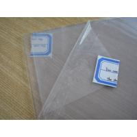 Buy cheap Clear Silicone Rubber Sheet Rolls Food Grade Without Smell , Density 1.25-1.50g/cm³ product