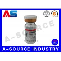 Buy cheap 2ml Sterile Injection Hologram Steroid Bottle Labels  Rainbow Color product