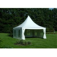 Buy cheap Heavy Duty Clearspan Marquee Pagoda White Event Tent For 50 People product