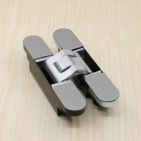 Quality different types of 180 degree 3d adjustable door hinges full concealed fitting for sale