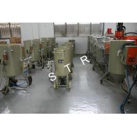 Buy cheap Portable Abrasive Blasting Machine Rubber Rolls Valve Removal 100L 200L 300L 500L product