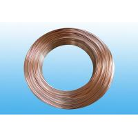 Buy cheap Steel Evaporator Tube 6.35 * 0.65 mm , Low Carbon Copper Coated from Wholesalers