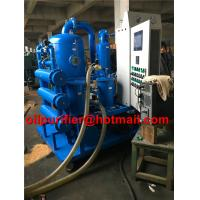 Buy cheap Fully Automatic PLC Double Stage Vacuum Transformer Oil Processing Equipment ,oil filtration, Oil Purification Device product